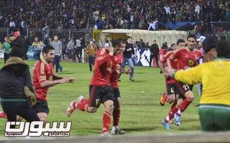 إقامة مباراة الأهلي مع المصري البورسعيدي في العاشر من يناير المقبل