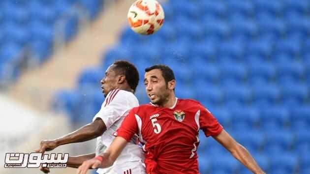 فوز الإمارات على الأردن ودياً