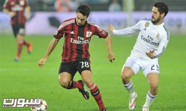 ميلان يقسو على ريال مدريد في كأس التحدي