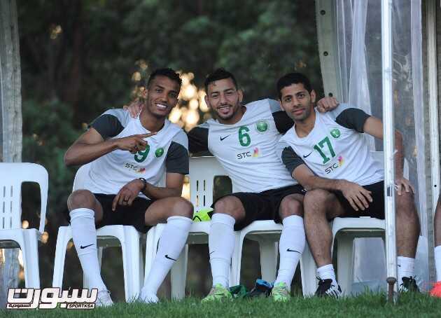 تدريبات الأخضر السعودية