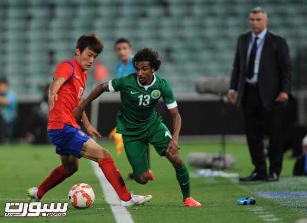 السعودية منتخب كوريا الجنوبية 15 ياسر الشهراني