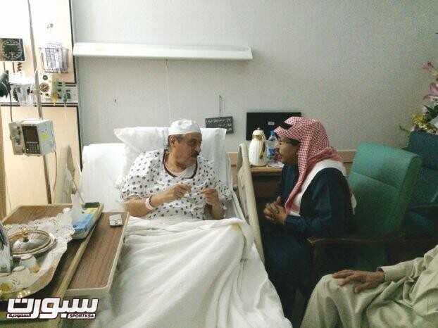 الزياني في المستشفى