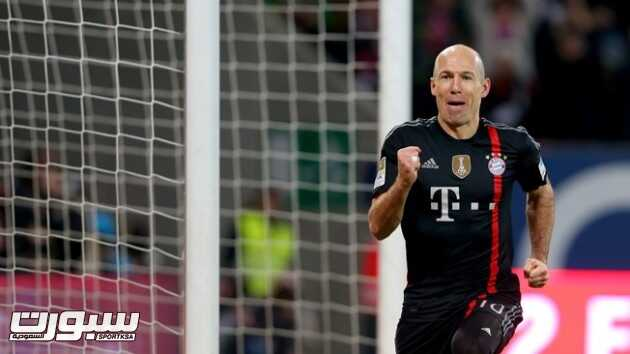 آريين روبن الأفضل في الدوري الألماني