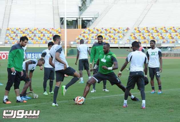 تدريبات المنتخب السعودي 1