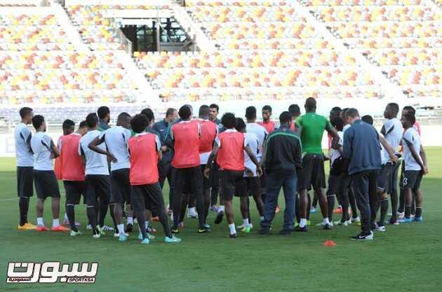 تدريبات المنتخب السعودي 2