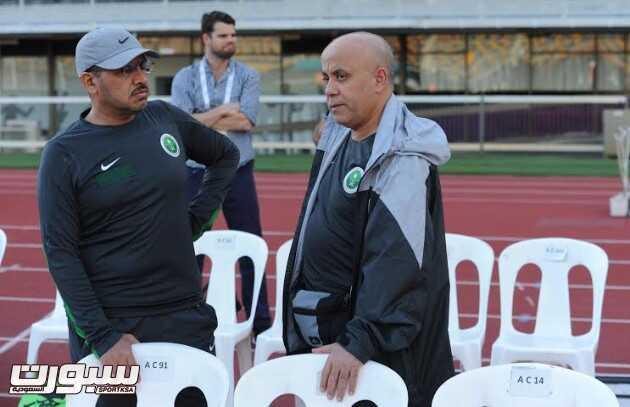 تدريبات المنتخب السعودي 3