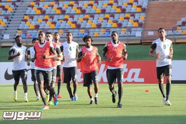 تدريبات المنتخب السعودي 4