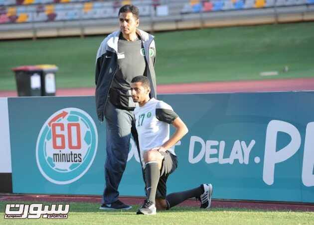 تدريبات المنتخب السعودي 6