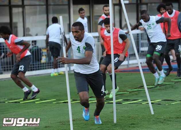 تدريبات المنتخب السعودي 7