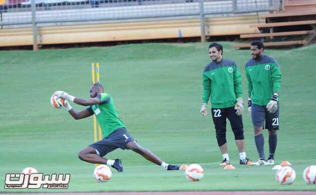 تدريبات المنتخب السعودي 8