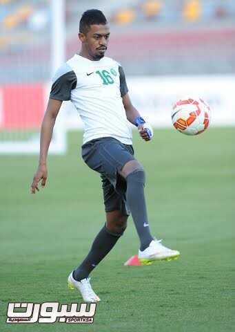 تدريبات المنتخب السعودي 9