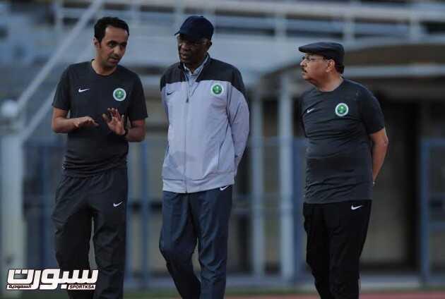 تدريبات المنتخب السعودي 14