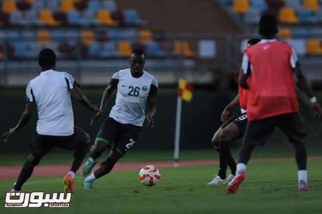 تدريبات المنتخب السعودي 15