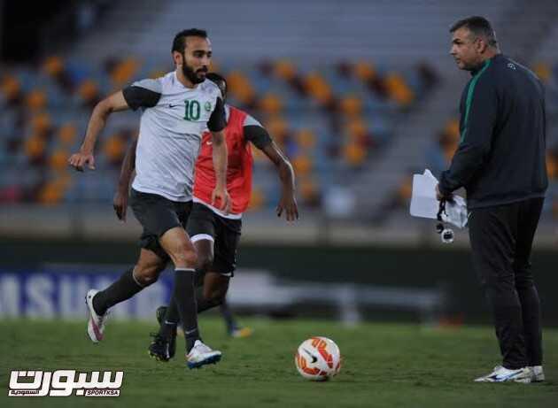 تدريبات المنتخب السعودي 17 محمد السهلاوي