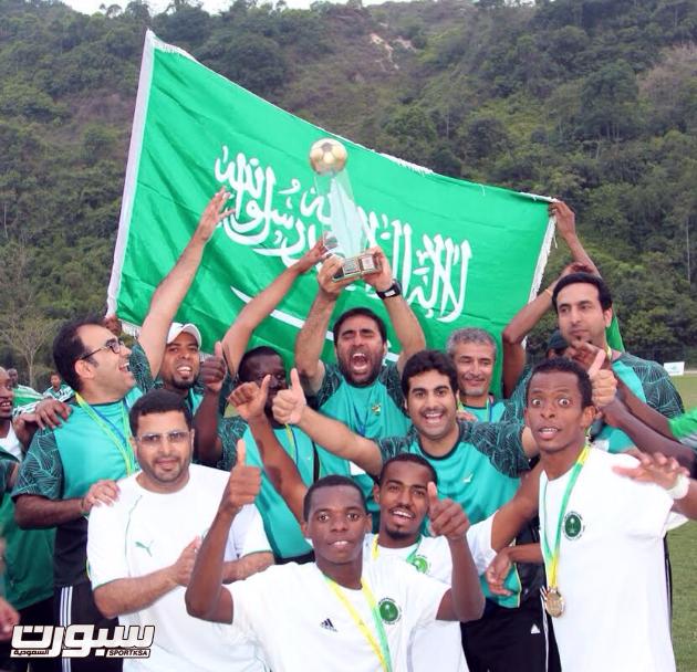 تتويج المنتخب بكأس العالم الأخيرة في البرازيل