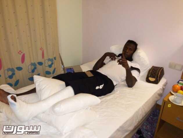 إصابة قاسية للاعب هجر في معسكر أنطاليا
