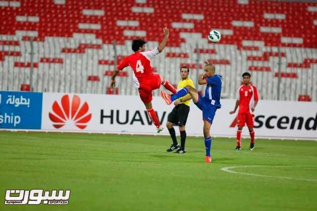 الإمارات الأولمبي يفوز على الكويت في افتتاح بطولة الخليج تحت 23