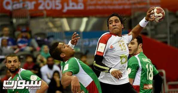 مصر تسحق الجزائر في مونديال اليد