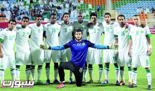 المنتخب الاولمبي السعودي