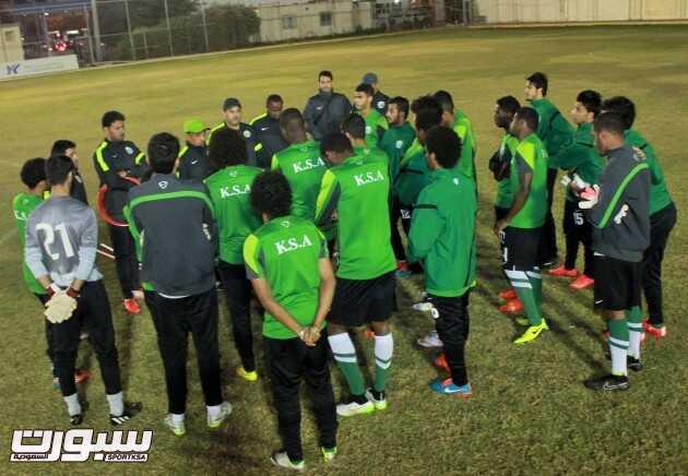 تدريبات المنتخب الاولمبي (1) 