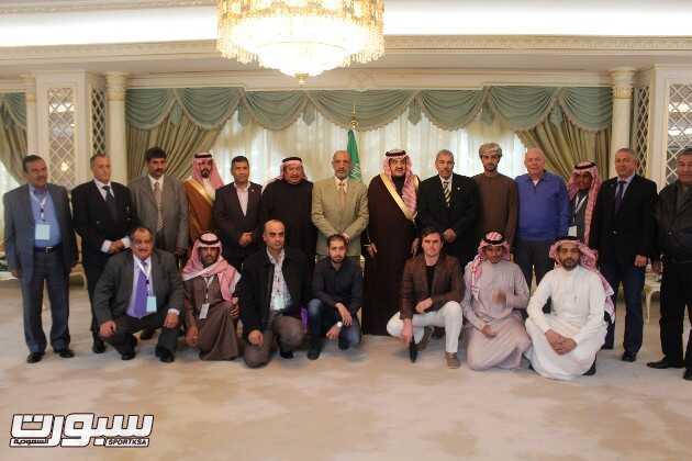 صورة جماعية مع نائب وزير الداخلية
