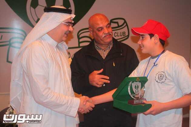 زيارة طلاب عمرة الأقصى للفتيان الأيتام بالأندية الأردنية والفلسطينية للنادي الأهلي