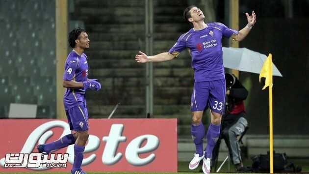 فيورنتينا يتأهل بسهولة إلى ربع النهائي كأس ايطاليا