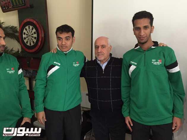 المدرب الوطني مروان المرعشي يحصل على شهادة تدريب كرة قدم من الإتحاد البرتغالي
