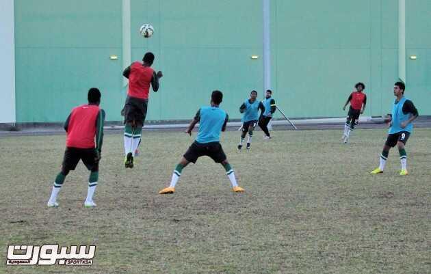 تدريبات المنتخب الاولمبي (3) 