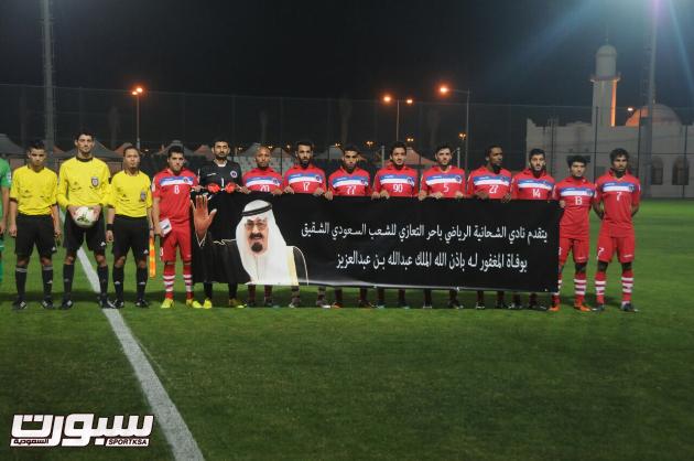 بالصور | الخليج يختتم معسكره بالفوز على الشيحانية القطري