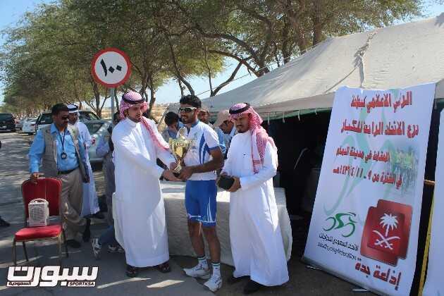 السلام بطل درع الاتحاد السعودي للدراجات