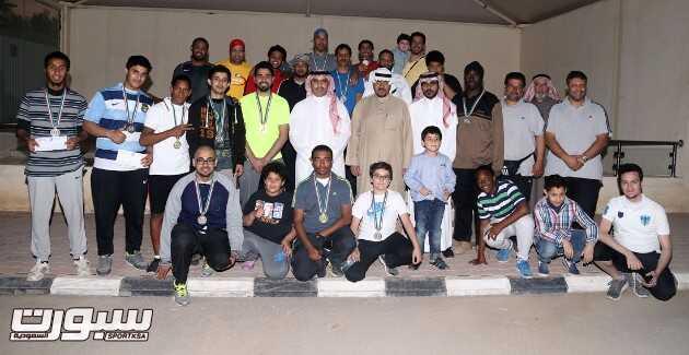 صورة جماعية للمشاركين عقب نهاية البطولة