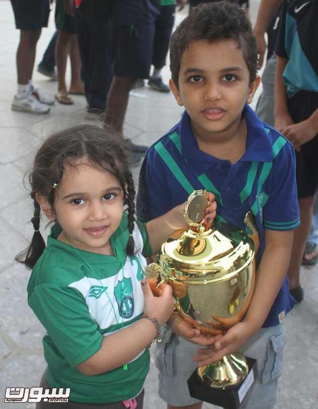 تتويج النادي الاهلي ببطولة كأس الامير فيصل بن فهد لكرة الماء