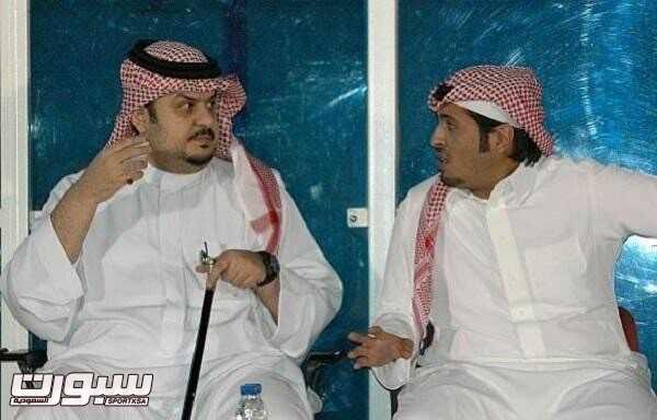 محمد بن فيصل - عبدالرحمن بن مساعد