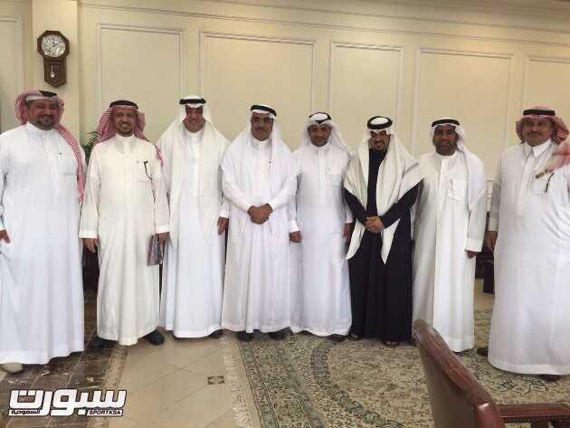 امين الشرقيه يستقبل اعضاء هيئة اللجان المنظمة لدورات حواري الشرقية