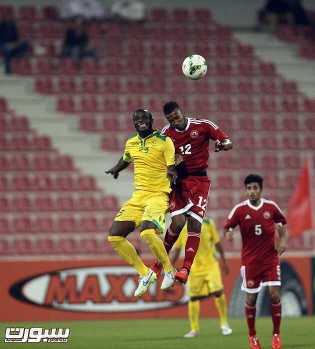 العربي القطري مع فريق السيب العماني في المباراة الاولى من البطولة 3 - 2 -2015 Pic 2