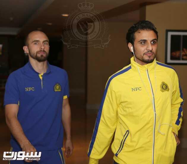 بالصور   بعثة النصر وصلت الدوحة وغداً مؤتمر صحفي للمدرب داسيلفا ومحمد حسين
