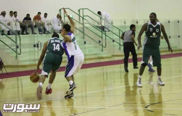 بالصور | الفتح يحقق فوزاً هاماً على الأهلي في دوري السلة