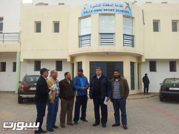 زيارة وفد الاتحاد العربي لليد  لاغادير