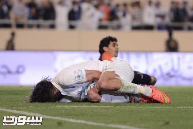 صور من مباراة الهلال و الخليج