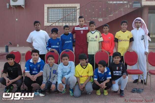 بالصور | الفيصلي يستقبل مدرسة التويم