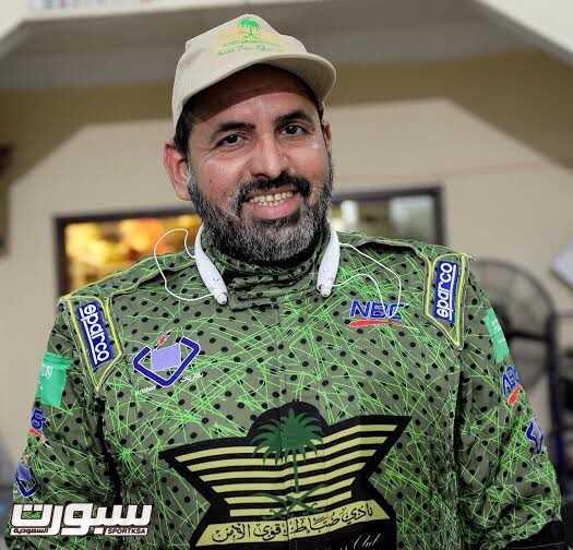 بطل رالي حائل ابراهيم المهنا
