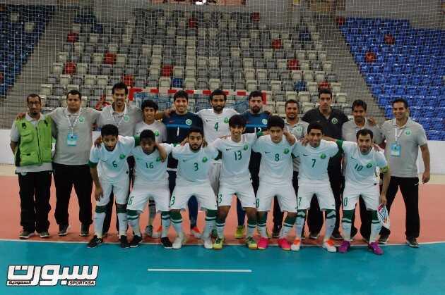اخضر الصالات يودع البطولة الخليجية