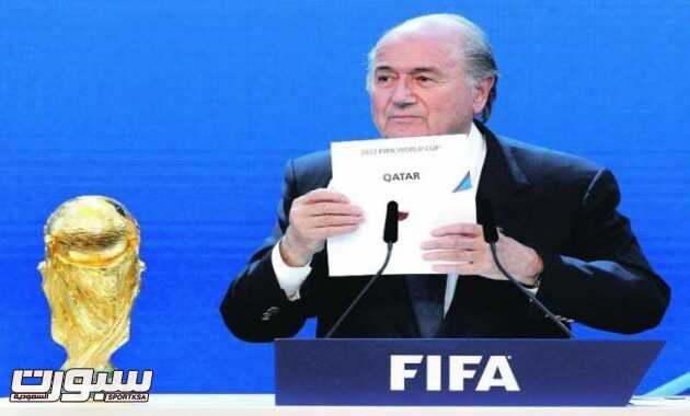 بلاتر مونديال قطر
