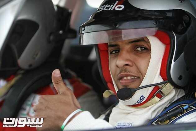 صالح العبدالعالي المشارك في رالي حائل