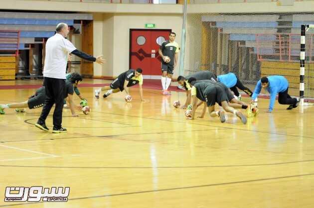 تدريبات منتخب اليد (1) 