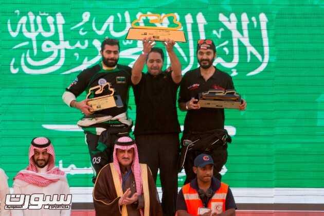 الفائزين من الجولة السابقة