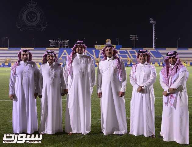 وفد موبايلي يزور نادي النصر
