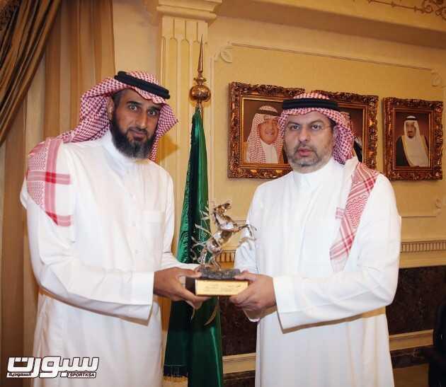 الامير عبدالله بن مساعد والشيخ عبدالمحسن الحقباني