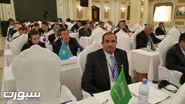 الدكتور سعد السند خلال الاجتماع